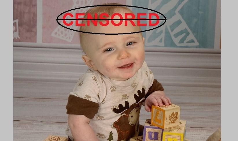 Baby Keaton not censored FB
