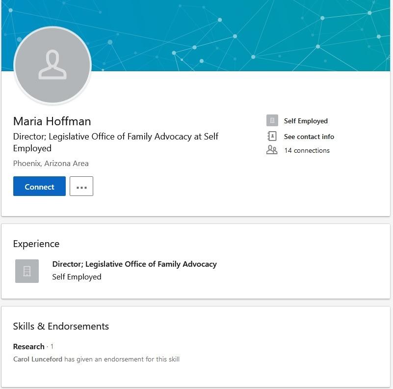 Maria Hoffman LinkedIn