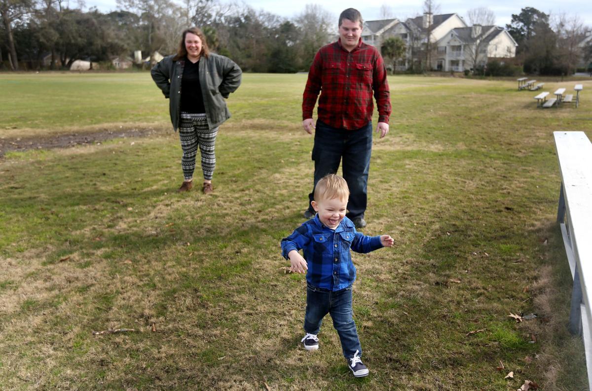 Foxx Coker with Parents