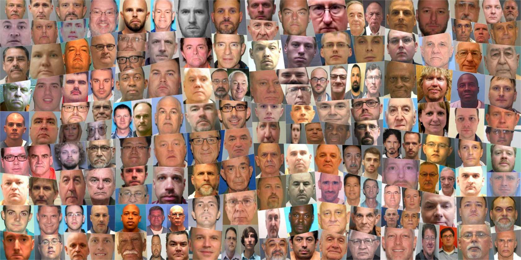 Southern Baptist leaders mug shots sexual abuse