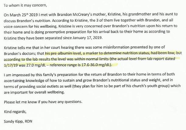 NutritionistLetter