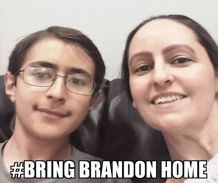 bring brandon home - mom and brandon